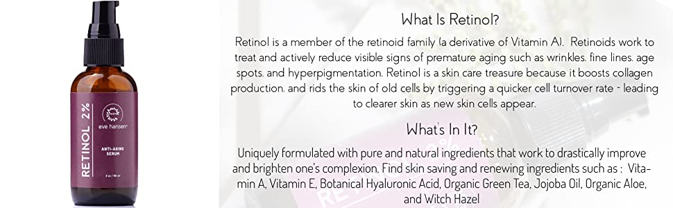 anti wrinkle cream attention serum under eye serum evening lotion retinol serum antiaging serum dark spots