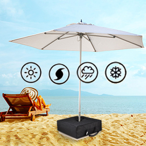 weather resistant umbrella base bag