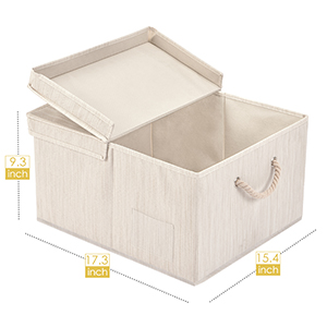 size of Foldable Storage Cubes