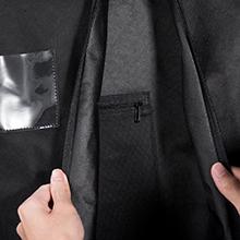 Label Holder & Internal Pocket