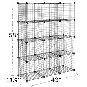 Large Capacity storage cubes