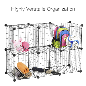 Great For Household With Small Items That Need To Be Well Organized.  Collect The Clothes, Toys Or Books And Place Them In Your Wire Storage Cube.