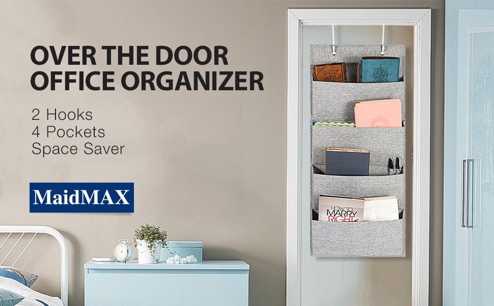 MaidMAX Over The Door Office Organizer