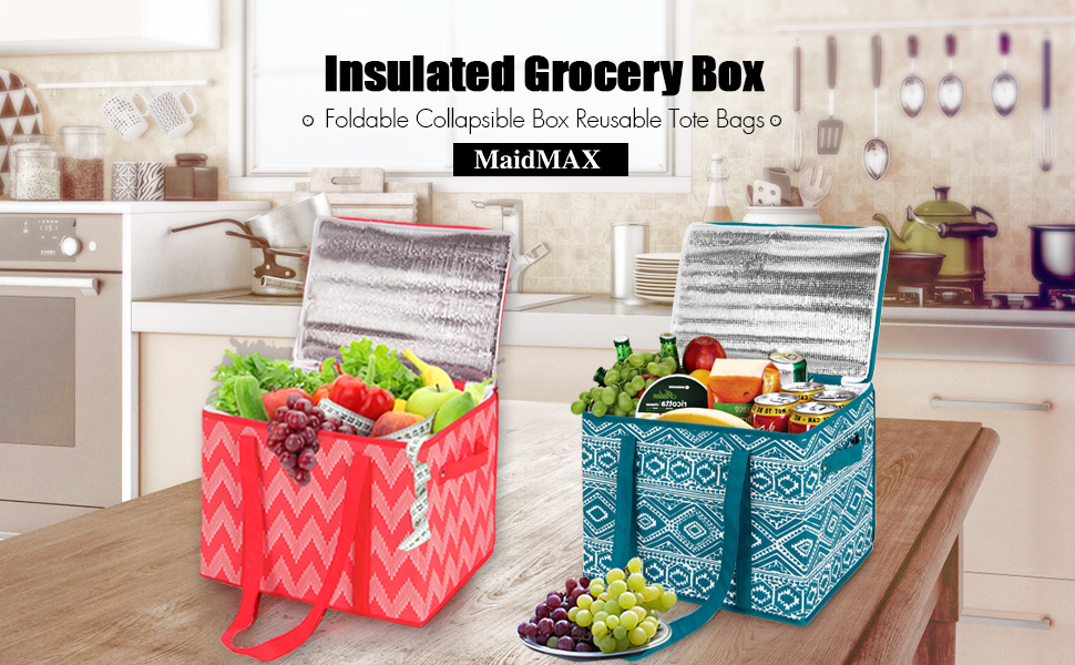 Insulated Grocery Box