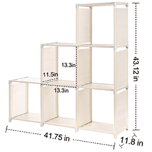 6 cube organizer size
