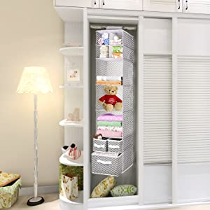 MaidMAX 7 Tiers Cloth Hanging Shelf