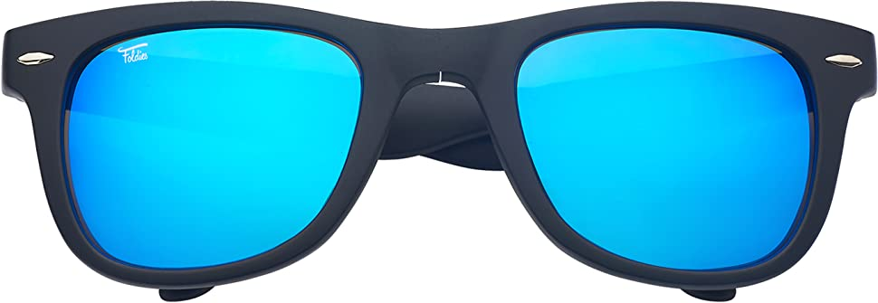 4149bad0f5 Amazon.com  Foldies Clear Folding Sunglasses with Polarized Black ...
