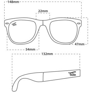 bb4b422909 Amazon.com  Foldies Clear Folding Sunglasses with Polarized Black ...