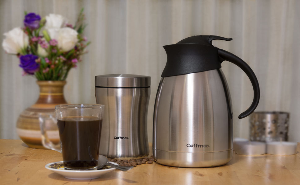Amazon Com Thermal Coffee Carafe Pitcher Double Walled
