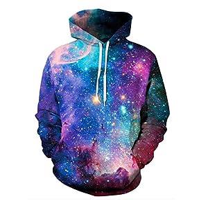 galaxy hoodie unisex pullover men 3d printed sweatshirt women couple hoodie birthday gifts pullover