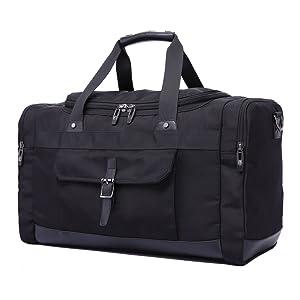 884c79a37fb4 Amazon.com  Domila Travel Duffel Bag 21   Large Unisex Weekender Bag ...