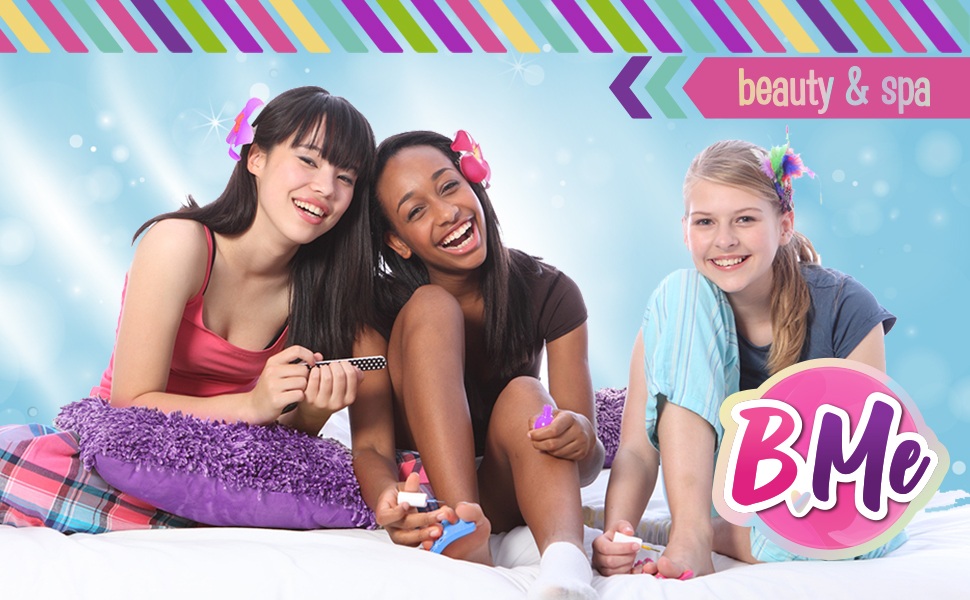Ultimate Kids Spa Kit w/ Nail Polish