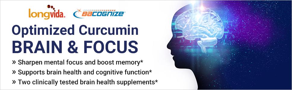 Optimized Curcumin Brain and Focus