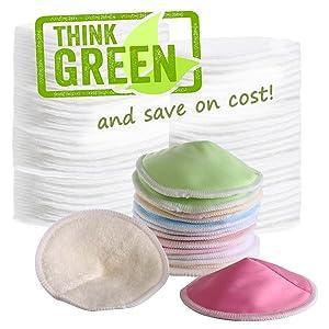 zero waste washable nursing pads
