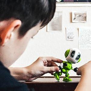 robot kids toys toy robotics travel age 3 5 plane smart mini boys 4 7 talking year old robots 8 up