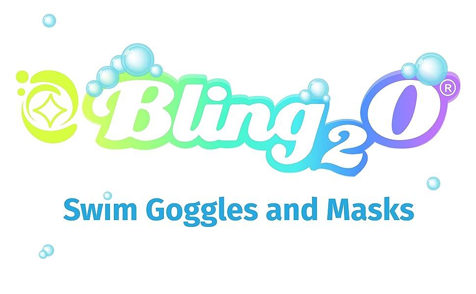 Details about  /Bling2O Girls Swimming Goggles Je T'Aime Heart Children Kids UV Swim Glasses 6y+