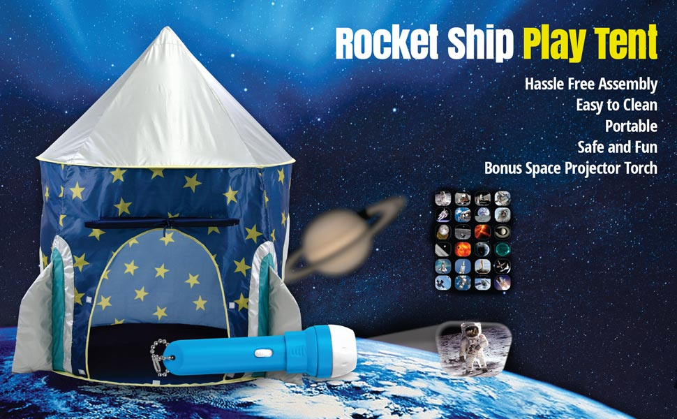 Amazon.com: Rocket Ship Play Tent