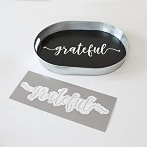 calligraphy script stencil word stencil reusable stencil for painting on wood sign stencil set
