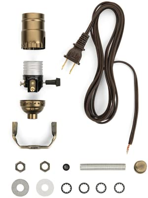 Lamp Light Kit - Make, Repurpose or Repair an Old Lamp with a DIY Lamp on repair a lamp, design a lamp, vintage wire lamp, wiring an outdoor lamp post, junction box from lamp, dimmer switch floor lamp, wonder woman lamp, it's a lamp, toaster lamp, parts table lamp, 8v 250ma fuse type lamp, names of parts lamp, standard table lamp, plugged in lamp, hairpin floor lamp, inside out lamp, lights a lamp, welding a lamp, vintage solid brass bridge lamp, touch dimmer for lamp,