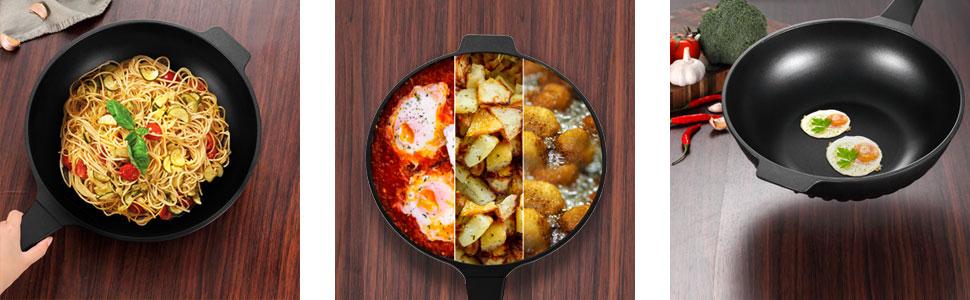pan can Stir fry,Soup,Frying