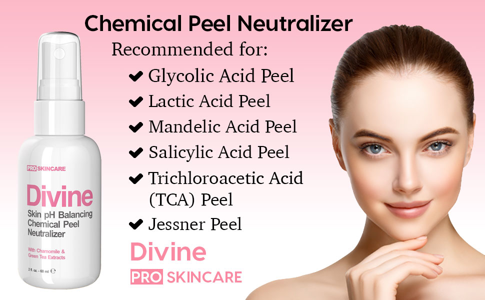 Calm and Soothing. Follow up your acid peel ...
