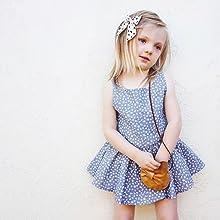 62fedc5ee YOHA Baby Girls Ruffle Jumper Dress Suspender Skirts Pinafore Toddler Dress