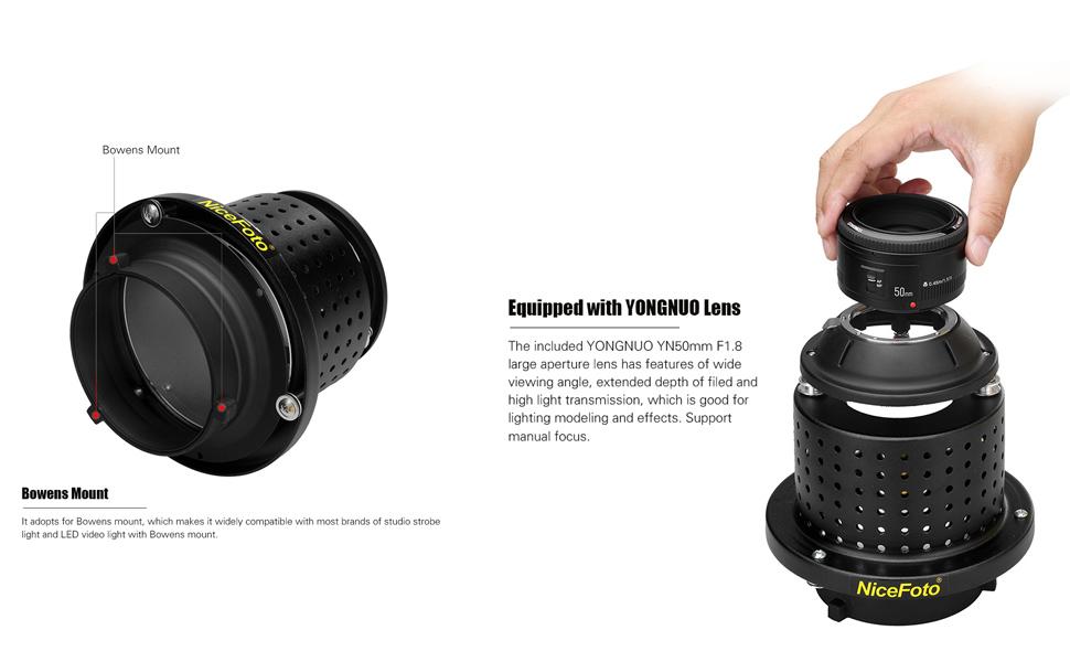 YONGNUO YN50mm F1.8 Lens