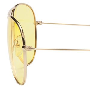 Eagle Eyes Classic Aviator Night-Lite - Night Driving Glasses