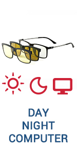 Eagle Eyes Speed of Life 2in1 Day Night Magnetic Eyewear System