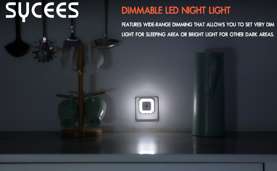 SYCEES Dimmable LED Night Light