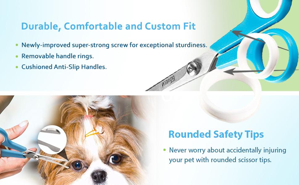 dog grooming scissors, dog grooming shears, dog hair scissors set, dog scissors set,