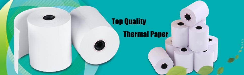 Mflabel 2 1 4 X 50 Thermal Paper Cash Register Pos Receipt Paper 50 Rolls