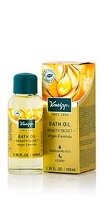 argan and marula bath oil