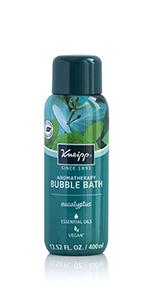 Eucalyptus Bubble Bath for Decongestant and Energy
