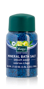 Valeriana Valerian and Hops Bath Salt for a calming and relaxing Sleep Bath to soak muscles