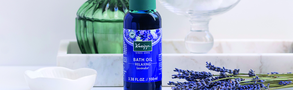 kneipp Herbal Bath Oil with Lavender essential oil