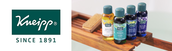 Kneipp Bath Oils - Arnica, Eucalyptus, Valerian and Lavender Bath Soaks