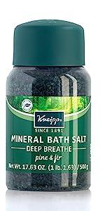 Kneipp Pine Oil and Fir Oil Bath Salt for Men and Women