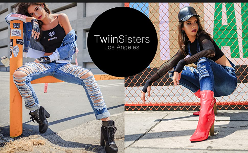 twiinsisters denim overalls short hip up curves stretch jeans causal streetwear