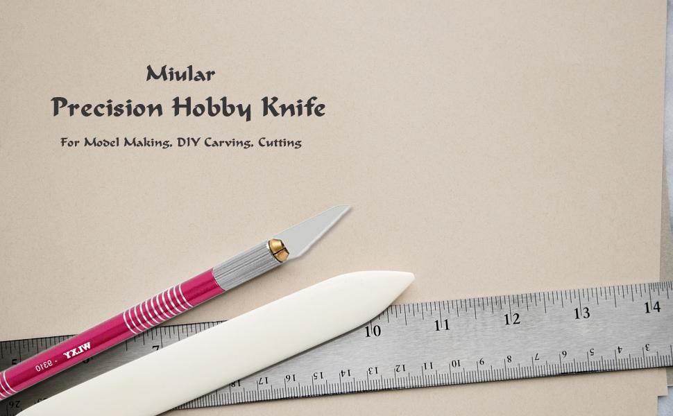 Amazon.com: Hobby Cuchillo para manualidades, cuchillo de ...