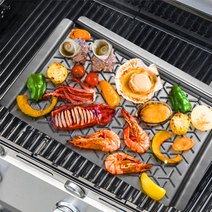outdoor grill topper