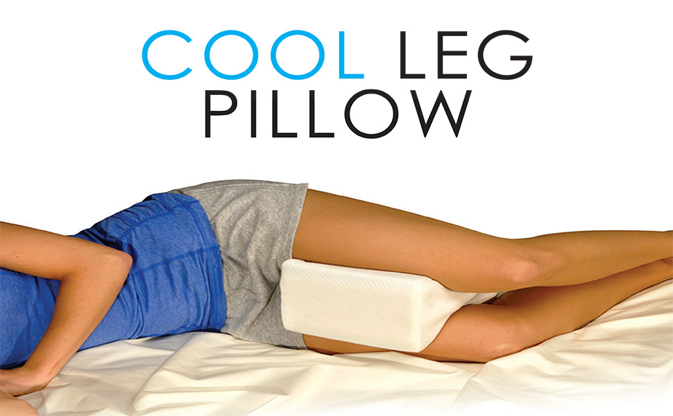 Amazon Com Contour Products Cool Gel Infused Leg Pillow