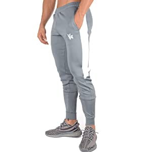 e2cdded421828 Amazon.com: YoungLA Athletic Track Pants for Men Joggers Slim Fit ...