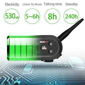 EJEAS E6 Bluetooth Intercom