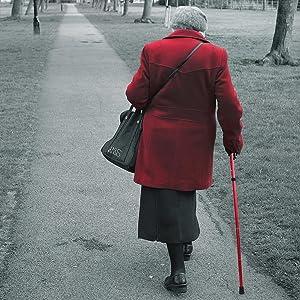 walking stick cane senior citizens