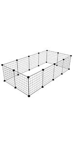 Amazon Com Tespo Pet Playpen Animal Fence Cage Diy