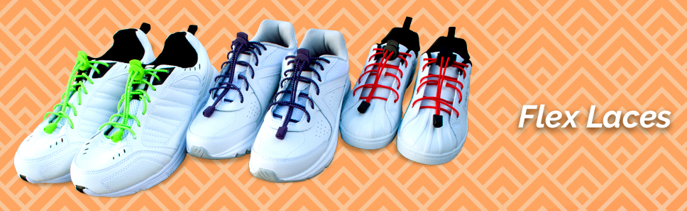 be04fcb558f Amazon.com: No Tie Stretch Shoelace with Easy Lock (7 Pairs, One ...