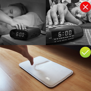 Rug Alarm Clock