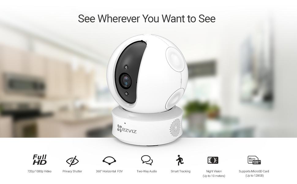 EZ360 1080p Indoor Wi-Fi Camera