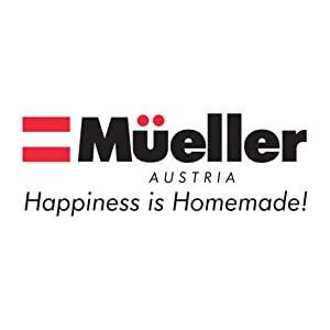 logo  Mueller Austria Ultra-Stick 500 Watt 9-Speed Immersion Multi-Purpose Hand Blender Heavy Duty Copper Motor Brushed 304 Stainless Steel With Whisk, Milk Frother Attachments 079b1f19 9e82 40a3 82ff 543efc8c34c2